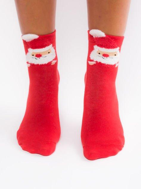 Bawełniane skarpety z motywem świątecznym                              zdj.                              1