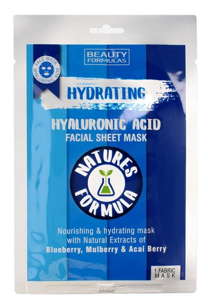 """Beauty Formulas Natures Formulas Maseczka na tkaninie Hydrating  1szt"""""""