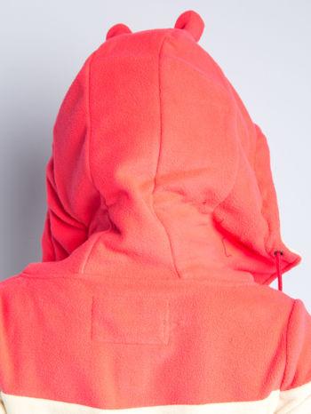 Beżowa bluza polarowa z kapturem z uszkami                                  zdj.                                  13