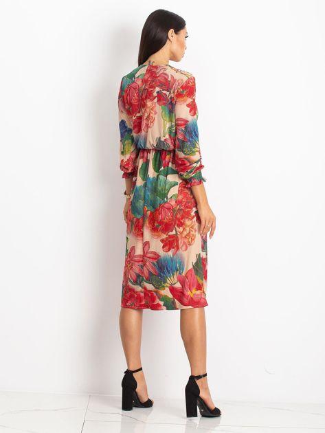 Beżowa sukienka Light                              zdj.                              2