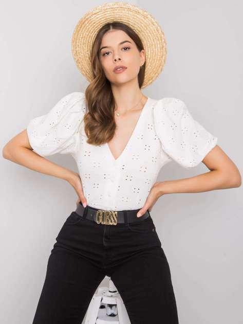 Biała bluzka na co dzień Ysabel RUE PARIS