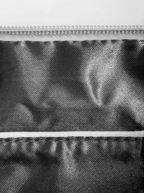 Biała kopertówka z dżetami napis LUCY WORLD                                  zdj.                                  6