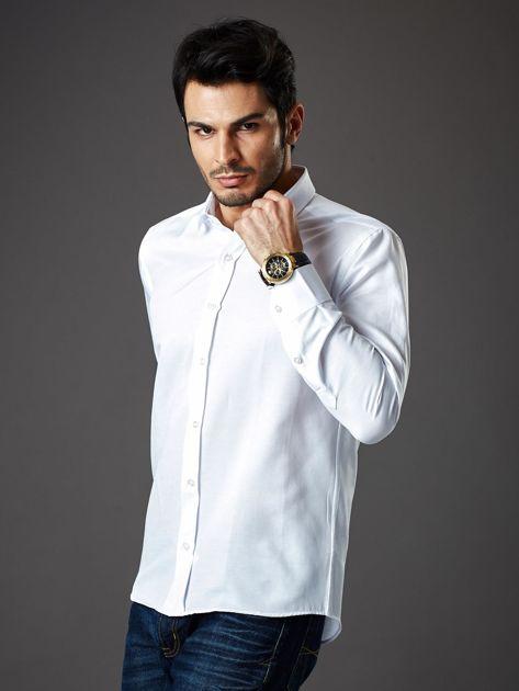 Biała koszula męska regular fit                              zdj.                              7