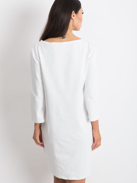 Biała sukienka Distinguished                              zdj.                              2