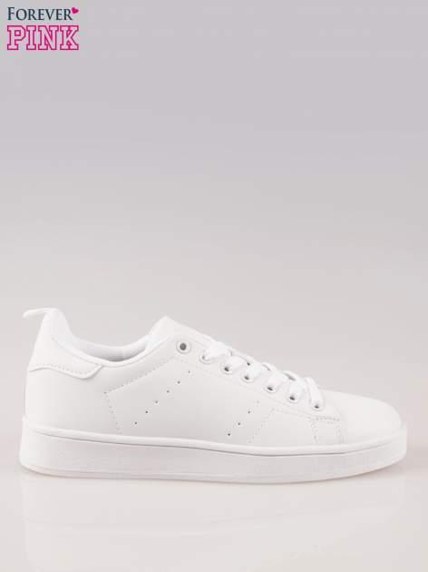 Białe buty sportowe damskie