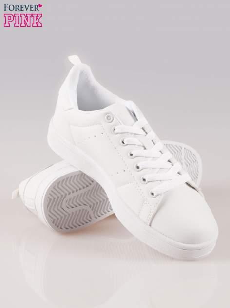 Białe buty sportowe damskie                                  zdj.                                  4
