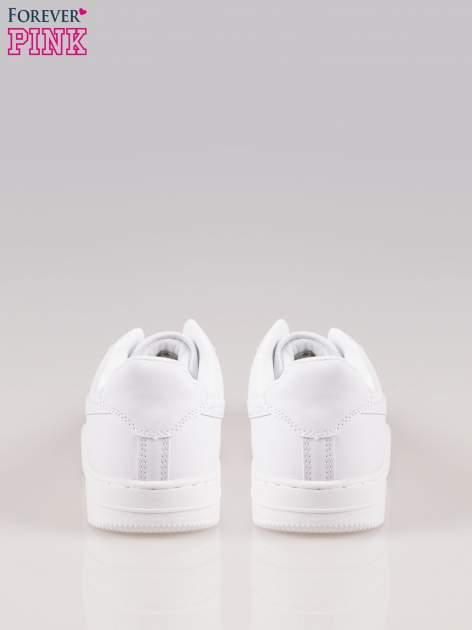 Białe buty sportowe na grubej podeszwie                                  zdj.                                  3