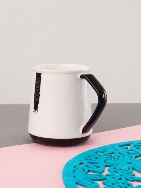 Biało-czarny kubek ceramiczny                              zdj.                              3