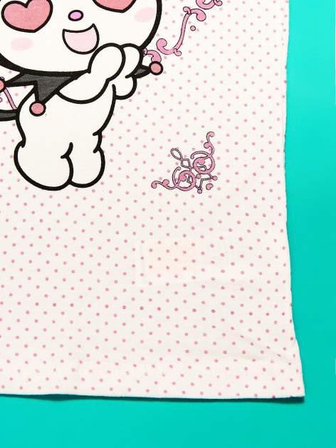 Biały komplet do spania dla dziewczynki KUROMI                                  zdj.                                  9