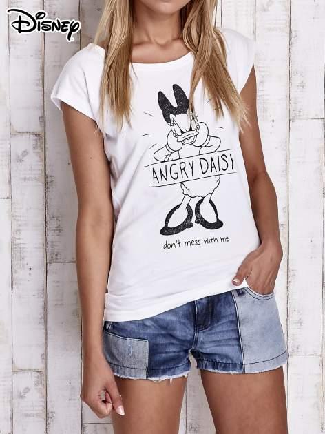 Biały t-shirt DAISY