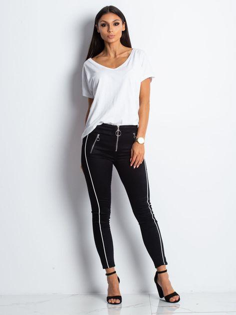 Biały t-shirt Emory                              zdj.                              4