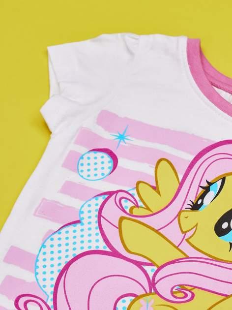 Biały t-shirt dla dziewczynki MY LITTLE PONY                                  zdj.                                  4