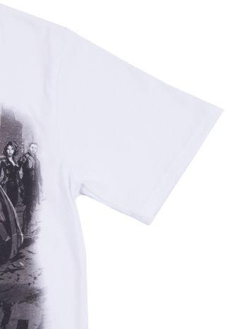 Biały t-shirt męski AVENGERS                                  zdj.                                  10