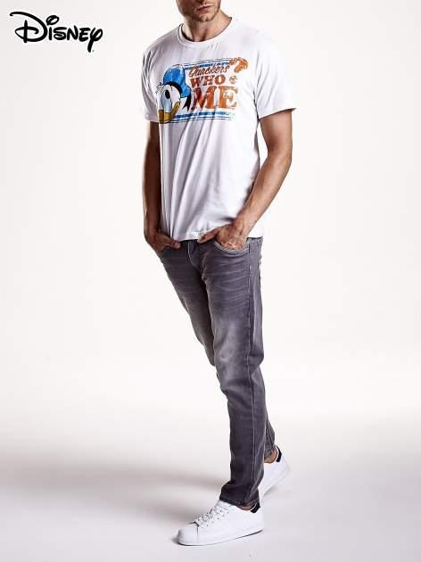 Biały t-shirt męski KACZOR DONALD                                  zdj.                                  9