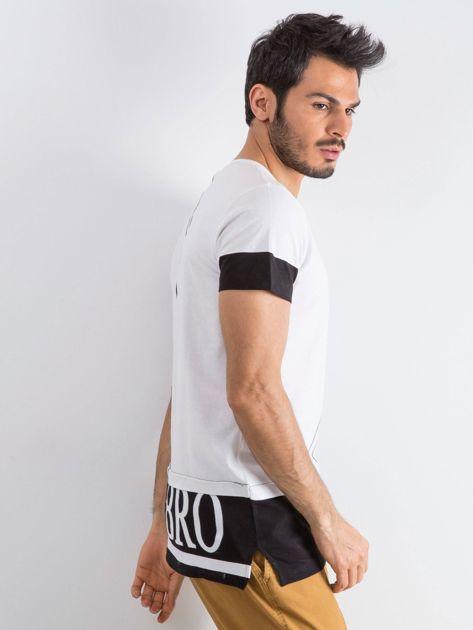 Biały t-shirt męski Narcos                              zdj.                              3