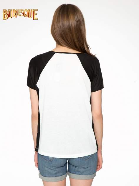 Biały t-shirt z napisem TOGETHER IS MY FAVOURITE PLACE TO BE                                  zdj.                                  4
