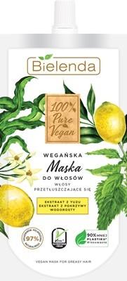 """Bielenda 100% Pure Vegan Wegańska Maska do włosów przetłuszczających się 125ml"""""""