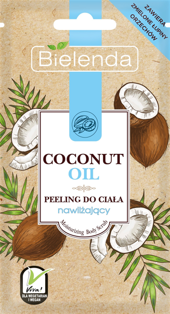 """Bielenda Coconut Oil Peeling do ciała nawilżający  30g"""""""
