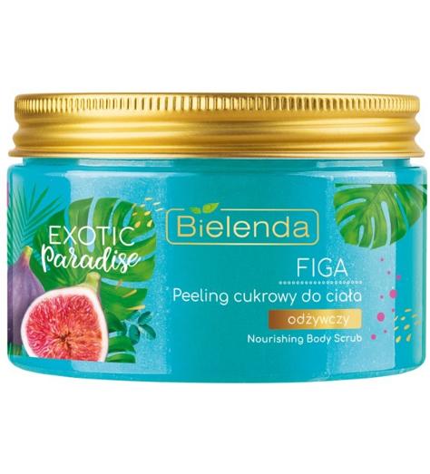 Bielenda Exotic Paradise Peeling cukrowy do ciała odżywczy Figa 350 ml