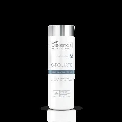 """Bielenda Professional X- FOLIATE Clear Skin Tonik kwasowy do skóry trądzikowej 200ml"""""""