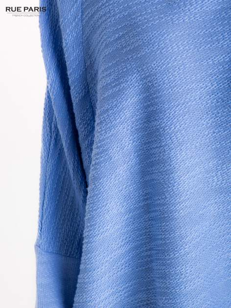 Bluzka o luźnym kroju w kolorze baby blue                                  zdj.                                  6