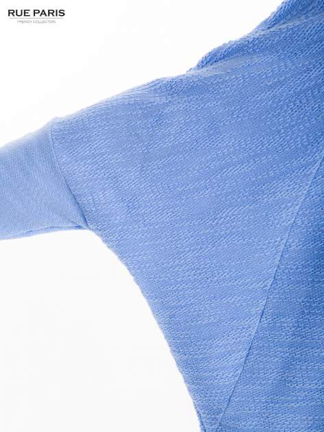 Bluzka o luźnym kroju w kolorze baby blue                                  zdj.                                  8