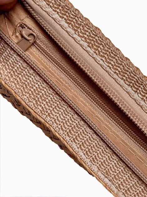 Brązowa listonoszka ze słomkową górą                                  zdj.                                  5