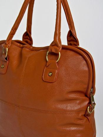 Brązowa torba miejska na ramię                                  zdj.                                  2