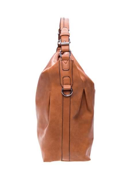 Brązowa torebka hobo na ramię                                  zdj.                                  2