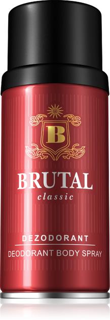 "Brutal Classic Dezodorant spray  150ml"""