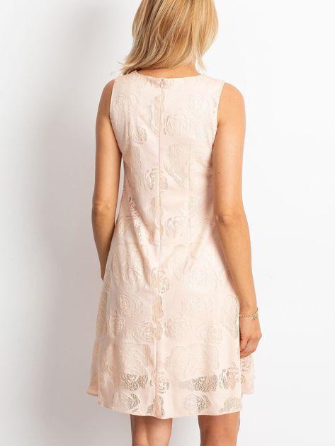 Brzoskwiniowa sukienka Free                              zdj.                              2