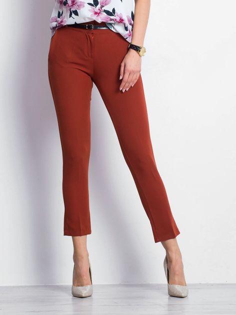 Ceglaste spodnie Civilian