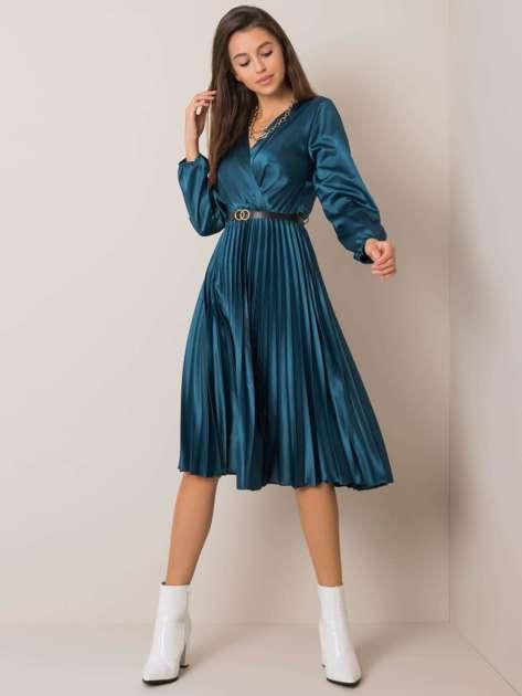 Ciemnomorska sukienka Royal