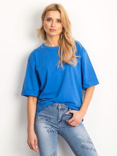 Ciemnoniebieska bluzka Celebration                              zdj.                              1