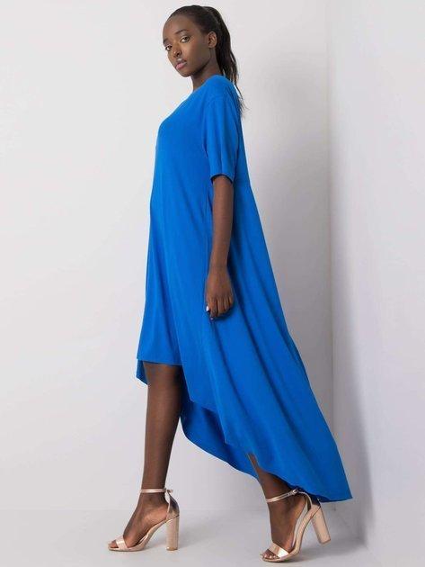 Ciemnoniebieska sukienka Casandra RUE PARIS