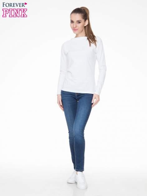 Ciemnoniebieskie spodnie typu skinny jeans z cieniowaniem                                  zdj.                                  2