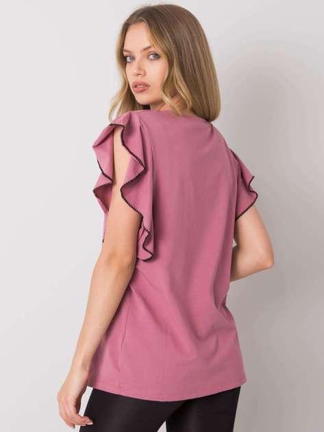 Ciemnoróżowa bluzka Vanesia