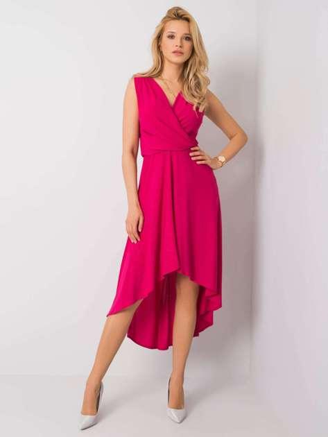 Ciemnoróżowa sukienka Britanny