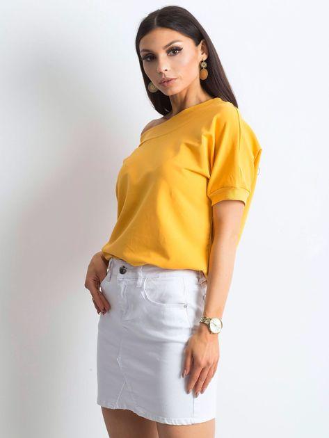 Ciemnożółta bluzka Lemontree                              zdj.                              1