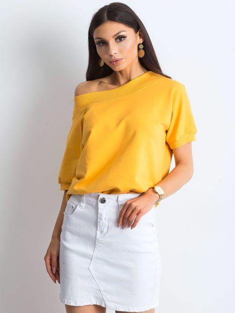 Ciemnożółta bluzka Lemontree                              zdj.                              3