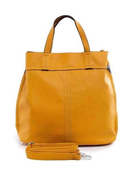 Ciemnożółta torba na ramię