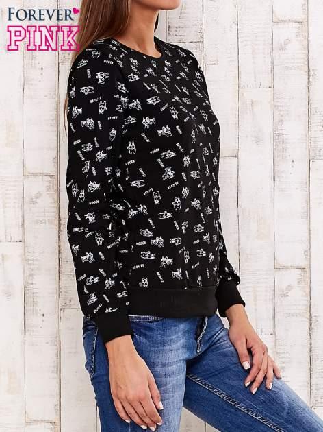 Czarna bluza motyw buldożków                                  zdj.                                  3