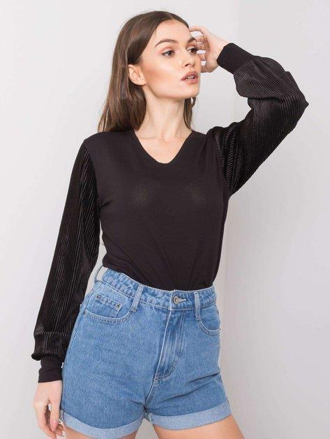 Czarna bluzka Blanche