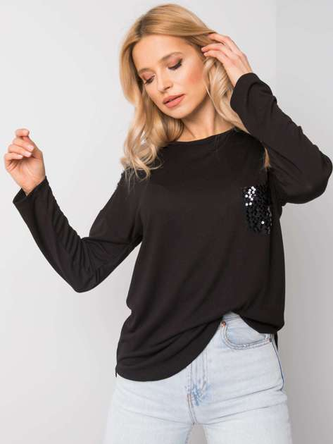 Czarna bluzka Kayla