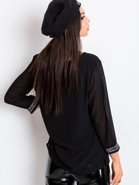 Czarna bluzka Tamara                              zdj.                              2