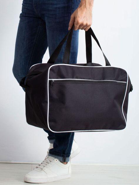 Czarna męska torba podróżna                              zdj.                              1