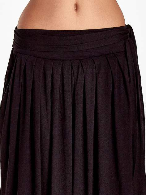Czarna plisowana spódnica maxi                                  zdj.                                  6