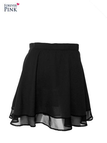 Czarna spódnica mgiełka