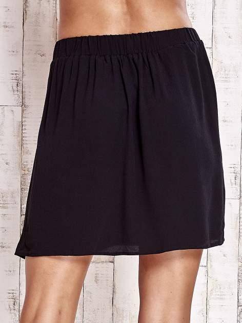 Czarna spódnica na gumkę                                  zdj.                                  6