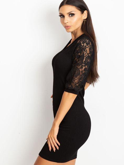 Czarna sukienka Cherish                              zdj.                              3